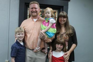 FBC Welcomes Bro. Jason Bowen & Family