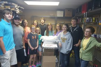 FBC's Youth Food Drive