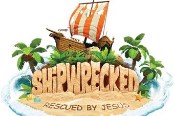 SHIPWRECKED-RESCUED BY JESUS!