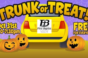 "2018 FBC Annual ""Trunk or Treat"""