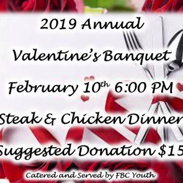 2019 Valentine's Banquet