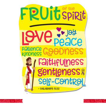"""Fruits Of The Spirit"" Children's Retreat"
