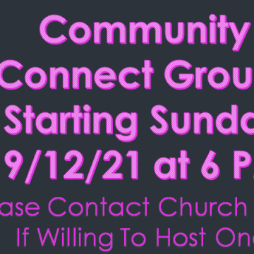 Community Connect Groups